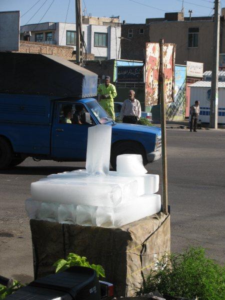 Eisverkauf auf offener Strasse