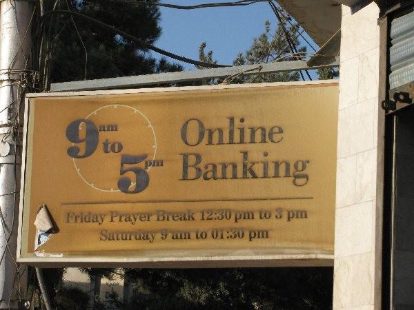 Online Banking?