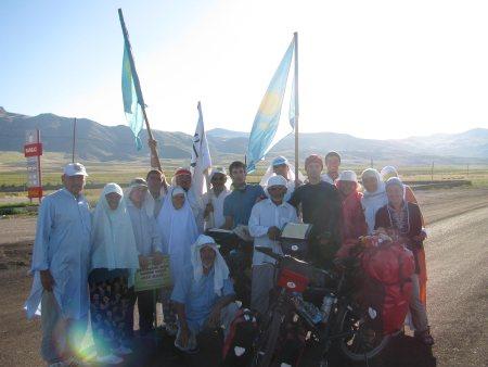 Pilger aus Kasachstan